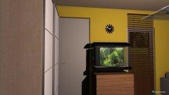 Raumgestaltung Salon z kuchnią in der Kategorie Wohnzimmer