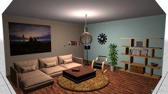 Raumgestaltung salon in der Kategorie Wohnzimmer