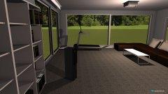 Raumgestaltung Salon_kuchnia in der Kategorie Wohnzimmer