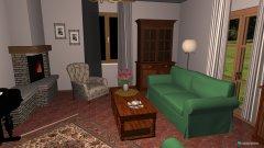 Raumgestaltung Salotto Casa in der Kategorie Wohnzimmer