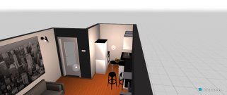 Raumgestaltung samija-dnevni-boravak in der Kategorie Wohnzimmer