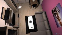 Raumgestaltung Sandra und Felix in der Kategorie Wohnzimmer