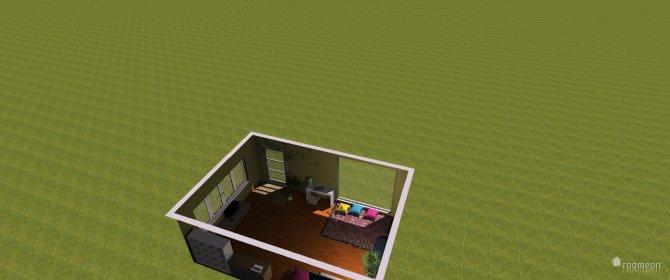Raumgestaltung Sarahs haus in der Kategorie Wohnzimmer