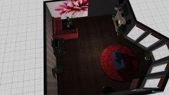 Raumgestaltung Schickes Wohnzimmer in der Kategorie Wohnzimmer