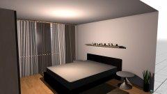 Raumgestaltung Schlaffzimmer02 in der Kategorie Wohnzimmer