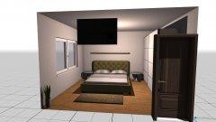 Raumgestaltung Schlaffzimmer in der Kategorie Wohnzimmer
