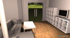 Raumgestaltung Schlosshof 3b - Wohnzimmer in der Kategorie Wohnzimmer