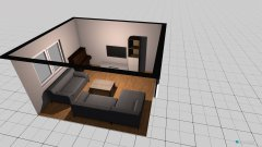 Raumgestaltung Schöne 1.OG WZ in der Kategorie Wohnzimmer