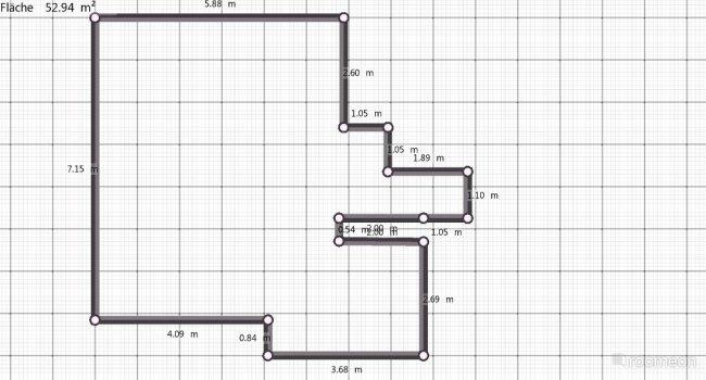 Raumgestaltung Schumanngasse in der Kategorie Wohnzimmer