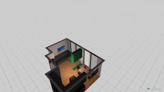 Raumgestaltung Schwabinger Obstgärten in der Kategorie Wohnzimmer
