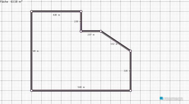 Raumgestaltung sdf in der Kategorie Wohnzimmer