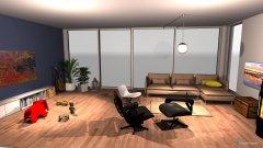 Raumgestaltung Seengen - Wohnzimmer v3 in der Kategorie Wohnzimmer