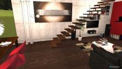Raumgestaltung shabby chic industrial design in der Kategorie Wohnzimmer
