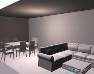 Raumgestaltung sin terminar in der Kategorie Wohnzimmer