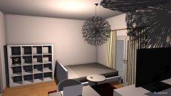 Raumgestaltung Single arpartment in der Kategorie Wohnzimmer