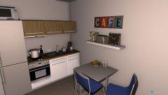 Raumgestaltung Singlewohnung in der Kategorie Wohnzimmer