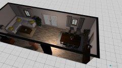 Raumgestaltung Skizze 1 in der Kategorie Wohnzimmer