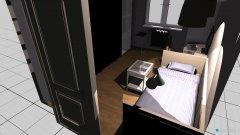 Raumgestaltung Small room in der Kategorie Wohnzimmer