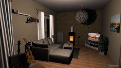 Raumgestaltung Sofer vor Fenster in der Kategorie Wohnzimmer