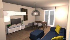 Raumgestaltung soggiorno 3 in der Kategorie Wohnzimmer