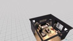 Raumgestaltung Souterrain in der Kategorie Wohnzimmer