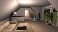 Raumgestaltung Spitzboden 3 in der Kategorie Wohnzimmer