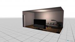 Raumgestaltung stan in der Kategorie Wohnzimmer