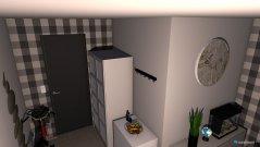 Raumgestaltung Stdentenwohnheim Zimmer in der Kategorie Wohnzimmer