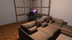 Raumgestaltung Steinkamp 1 - Wohnen in der Kategorie Wohnzimmer