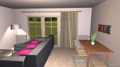 Raumgestaltung Stranddomizil 01 in der Kategorie Wohnzimmer