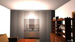 Raumgestaltung Stube nach Umbau ohne Wintergarten in der Kategorie Wohnzimmer