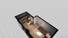 Raumgestaltung Stube und Küche in der Kategorie Wohnzimmer