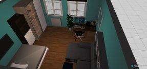 Raumgestaltung studenten wohnung in der Kategorie Wohnzimmer