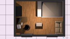Raumgestaltung Studentenzimmer in der Kategorie Wohnzimmer