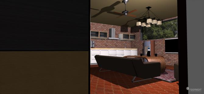 Raumgestaltung Studio-Flair in Parkidylle in der Kategorie Wohnzimmer