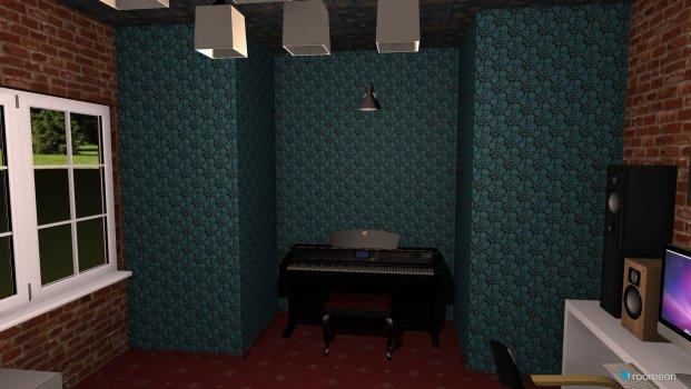 Raumgestaltung studio in der Kategorie Wohnzimmer
