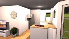 Raumgestaltung Sudenstraße - Wohnküche 2 in der Kategorie Wohnzimmer