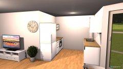 Raumgestaltung Sudenstraße - Wohnküche 3 in der Kategorie Wohnzimmer