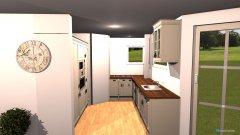 Raumgestaltung Sudenstraße - Wohnküche in der Kategorie Wohnzimmer
