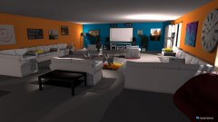 Raumgestaltung Sunset Living Room in der Kategorie Wohnzimmer