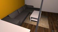 Raumgestaltung SvenHannahLivingRoom in der Kategorie Wohnzimmer