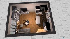 Raumgestaltung Szarcsa lakaska 3. in der Kategorie Wohnzimmer