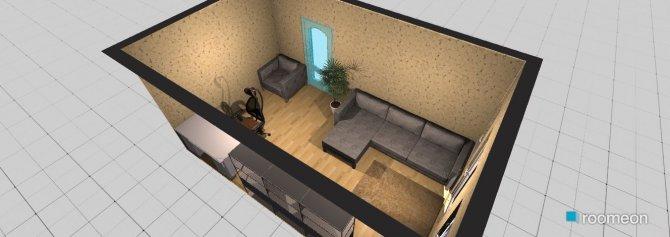 Raumgestaltung tema in der Kategorie Wohnzimmer