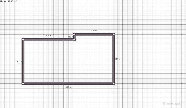 Raumgestaltung Testprojekt Niedernsill Roomeon 3 D Planner in der Kategorie Wohnzimmer