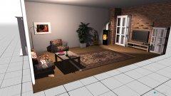 Raumgestaltung Testroom in der Kategorie Wohnzimmer