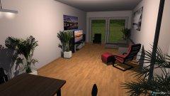 Raumgestaltung Thalwil Wohnzimmer V4 altes Sofa + 2 Sessel in der Kategorie Wohnzimmer