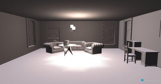 Raumgestaltung Theatersaal in der Kategorie Wohnzimmer