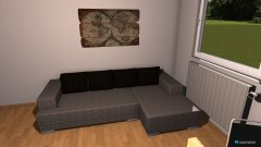 Raumgestaltung Thiri Wohnzimmer in der Kategorie Wohnzimmer