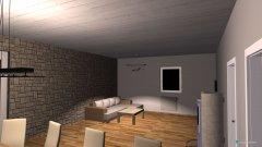 Raumgestaltung Thomas haus in der Kategorie Wohnzimmer