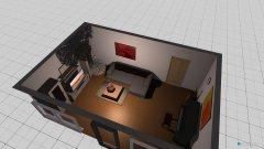 Raumgestaltung Thünen Wohnzimmer  in der Kategorie Wohnzimmer